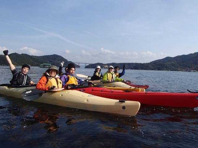 【徳島】【シーカヤック&Bike】【約3時間】海をカヤックで漕ぎ、陸路をサイクリ...