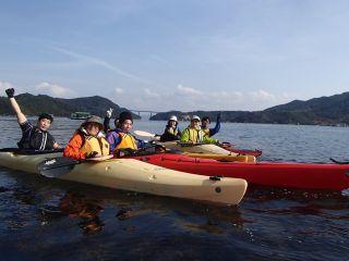 【徳島】【シーカヤック&Bike】【約3時間】海をカヤックで漕ぎ、陸路をサイクリングで漕ぐ♪シーカヤック&Bikeツアー♪