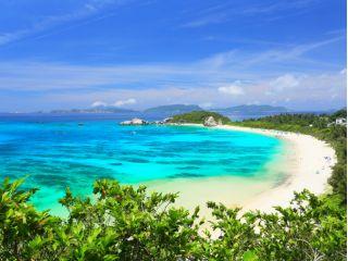 沖縄初! 渡嘉敷島上陸 \海水浴&ランチ付き/ ケラマ諸島ボート体験ダイビングツアー