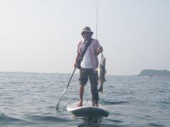 上手く乗れるようになったら釣りだってできちゃう!