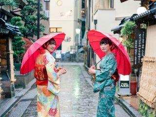 武家屋敷から兼六園・21世紀美術館は徒歩圏内!美しい金沢の街並みをきもの姿で写真いっぱい撮ってね!