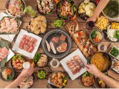 2021春の食べ放題BBQ(イメージ)