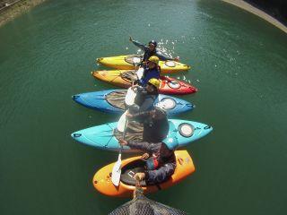 【半日/カヌーツーリング】雄大な自然に包まれた四万十川を存分に楽しもう♪【一人乗り】