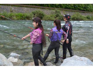 馬瀬川の釣り体験