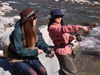 馬瀬川の渓流釣り