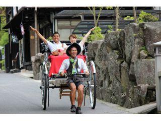 【GoTo地域共通クーポン使用OK♪】宮島をじっくり楽しむ!☆優雅に60分☆人力車貸切プラン(お一人様8,750円)