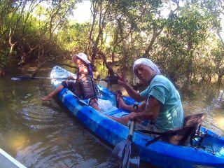 【ファミリー・友達応援】マングローブカヤック|やんばる国立公園に指定された沖縄本島北部オクマから海の森マングローブをカヤックで見に行こう!※2名様より催行
