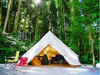 おしゃれキャンプグランピングを気軽に体験!