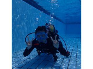 【初心者歓迎】<<プール>>体験ダイビング♪安全性を重視した丁寧指導