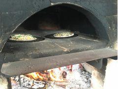 手づくりピザ窯