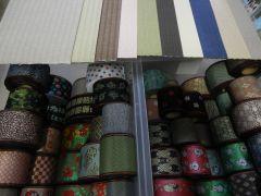 お好みのゴザの色と畳縁の柄が選べます♪