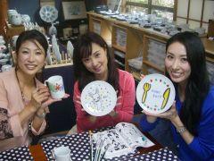アフタヌーンティーのマグにケーキ皿、時々おしゃれな飾り皿・・・