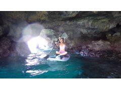 ポイントによっては自然の洞窟を大冒険!!