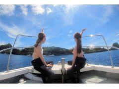 気持ちのいい沖縄の海をお楽しみください!