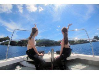 沖縄人気エリア恩納村でボートダイビング!