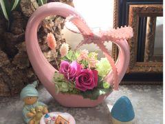 お客様の作品(^^)ピンクの色ひとつ違っても、オリジナルのオンリーワン!