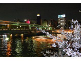夜桜クルーズ