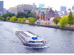 中之島周辺の観光スポットを巡ります。