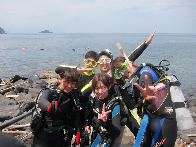 体験ダイビング! 1日の~んびり2ダイブプラン!