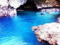 神秘的!!青の洞窟探検