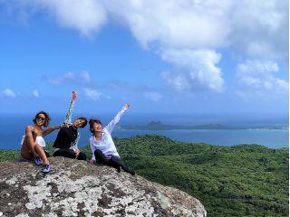 石垣島のジャングルや美しい海、近隣の八重山諸島まで見下ろすことができる大パノラマ!
