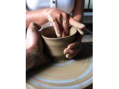 お茶碗、カップ、ビールカップなどが作れます!