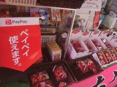 お土産いちごやイチゴジャム、全国発送も承っております。paypayによるお支払いもできます。