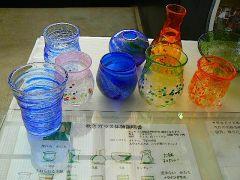 実際にお客様が作ったガラス作品。