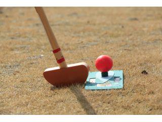 グラウンド・ゴルフのコースがあり、老若男女関係なく楽しく過ごせます。
