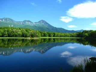 知床五湖2湖より