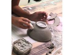 オリジナルお茶碗が簡単に創れます