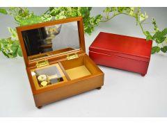 オルゴールの定番!木製宝石箱 4500円