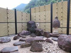個室から…の枯山水庭園(一例)