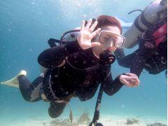 体験ダイビング02