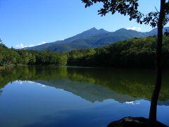 四湖からの眺め