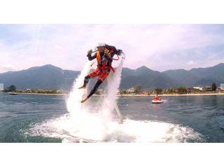 【背中の翼で大空へ!!】琵琶湖で≪ジェットパック≫!!〜話題の新アクティビティー!〜【カーメルビーチクラブ店】