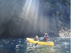 洞窟探検へ行く前はワクワクしますね♪♪