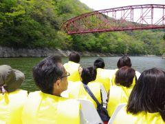 有形文化財の「神龍橋」下から眺めると・・・