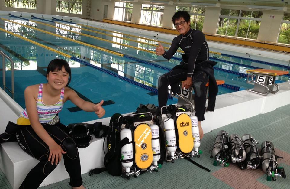 【リブリーザー体験ダイブ】九州唯一テクニカルCCRでの体験ダイビングです!