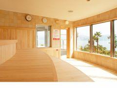 海の湯 展望サウナ室