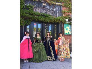 素敵にドレスアップをして函館ベイエリアに繰り出したら芸能人並みに注目され、大盛り上がりで楽しみました!!
