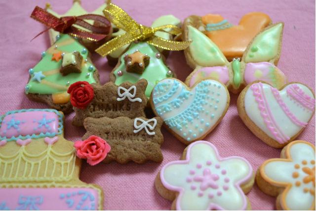 【女性専用サロン★アイシングクッキー】アイシングクッキー体験♪キュートなクッキー...