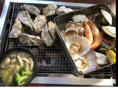 牡蠣はもちろん!海鮮食材も豊富にご用意しています!