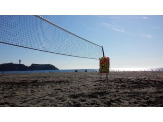 平日体験入学♪Beach Tennis School!(*´▽`*)