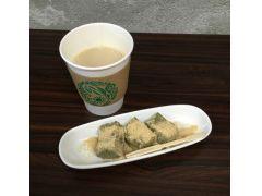日本茶ラテ&デザート