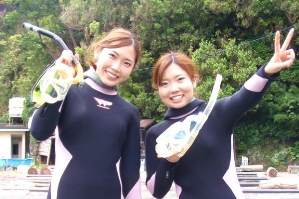 【体験ダイビングで水中写真を撮ろう♪】お弁当付♪バスタオルレンタル、シャンプーセ...