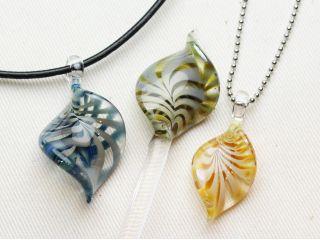 葉っぱコースで作るガラスの葉っぱは、この3色がおすすめです。