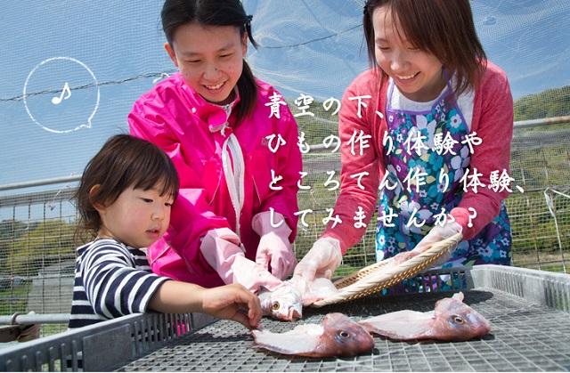 【徳島・鳴門】【小さいお子様OK!】【約2~3時間】自分で干物を作って魚のおいし...