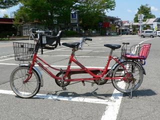 4時間レンタサイクル|山中湖周遊に最適♪ 2人乗り用自転車もあり! ファミリー・女性同士・カップルにおすすめ☆