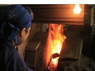(35)布都正崇鍛刀場 刀鍛冶の仕事と日本刀にふれる
